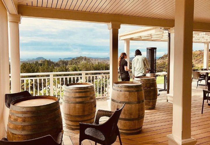 Paroa Bay Winery, Sage Restaurant