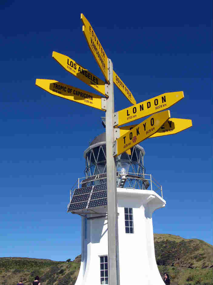 Cape Reinga Famous lighthouse