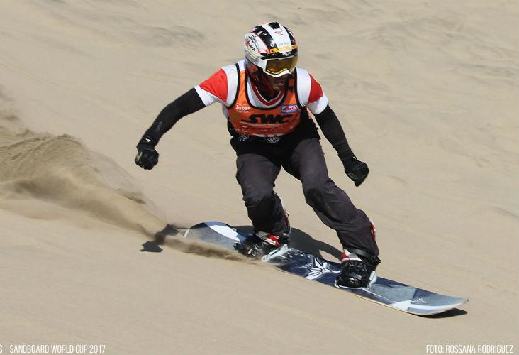 Sandboarding Champ