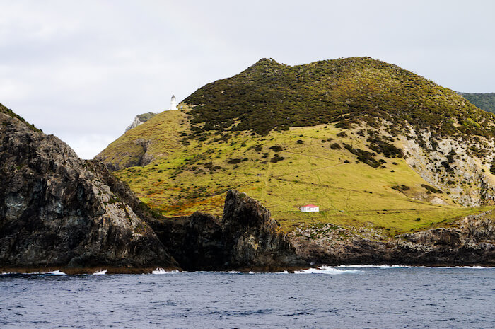 Lighthouse Keepers house, now DOC hut,