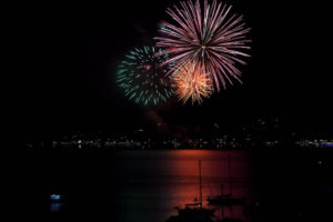 Firework Paihia Visit Bay f Islands