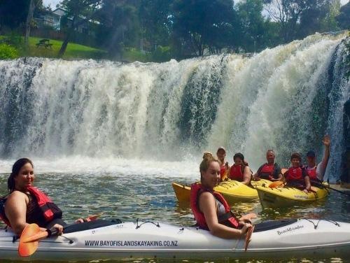 Kayaking Haruru Falls with Bay of Islands Kayaking