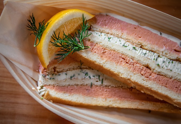 Salmon & Dill Terrine - Just Fish and Chips