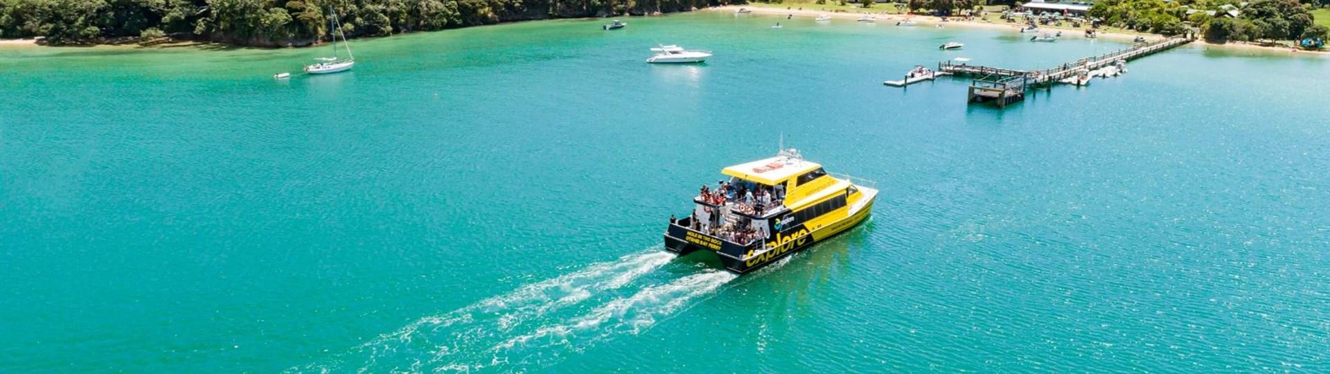 Otehi Bay Ferry Bay of Islands